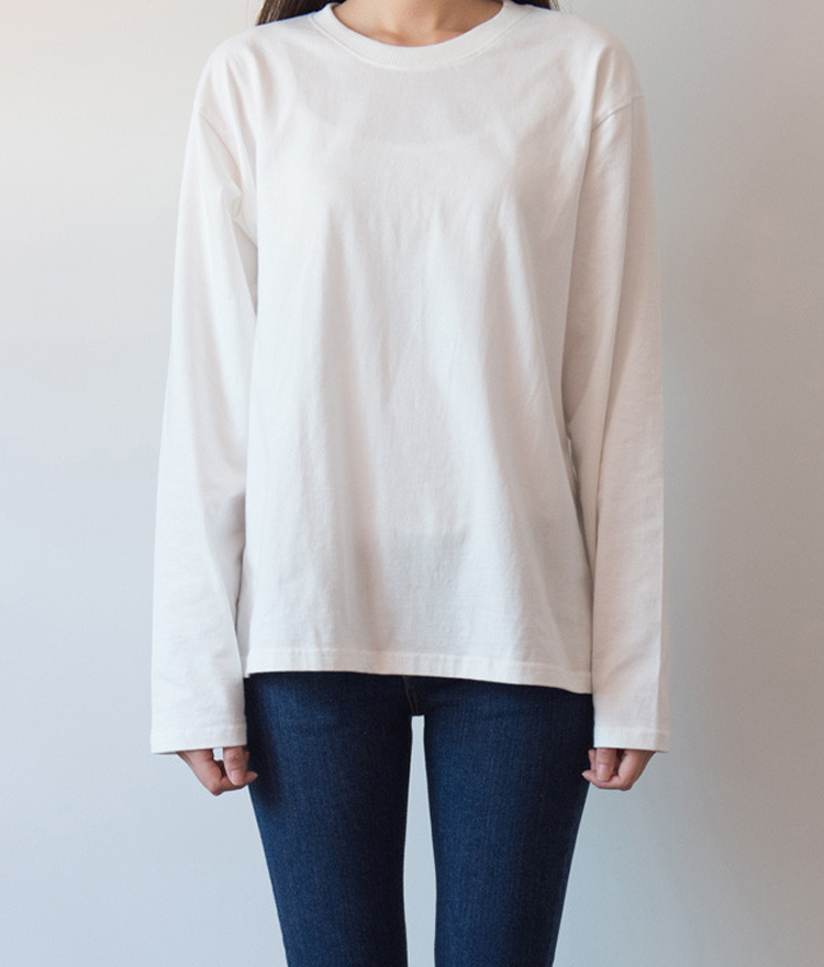 365BASICCrew Neck Long Sleeve Top